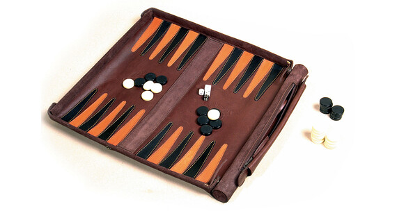 Leathersafe Roll & Play - Juego de viaje - marrón
